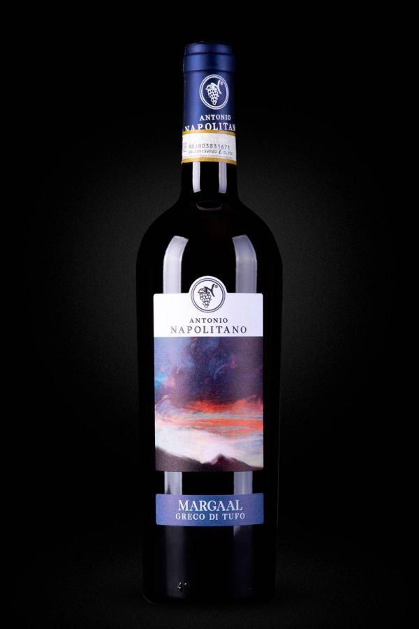 """""""MARGAAL"""" Greco di Tufo D.O.C.G. Antonio Napolitano dry wine suitable for white meats, fish and cheeses"""